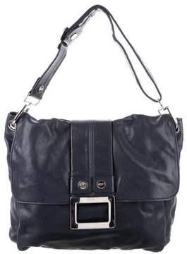 Roger Vivier Leather Messenger Bag