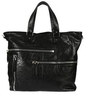 Valentino Men's Ny2b0600dsg0no Black Leather Briefcase.