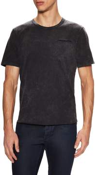 Alternative Apparel Men's Washed Out Cotton Short Sleeve Tee