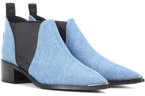 Acne Studios Jenny denim ankle boots