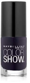 Maybelline Color Show Nail Polish, 345, Midnight Blue.