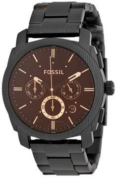 Fossil Machine Chronograph Dark Brown Dial Men's Watch