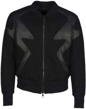 Neil Barrett Zig Zag Bomber Jacket