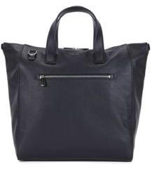 Hugo Boss Uptown Tote Z Leather Tote One Size Black