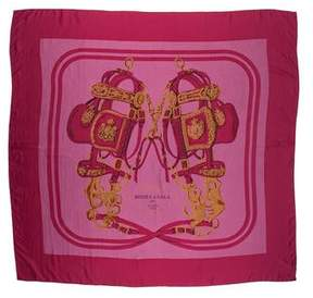 Hermes Brides de Gala Dip-Dye Silk Shawl