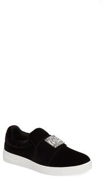 MICHAEL Michael Kors Girl's Ivy Dream Embellished Slip-On Sneaker