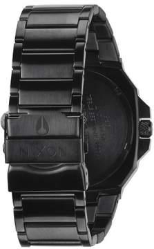 Nixon Deck Watch Matte Black/Industrial Green, One Size