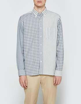Beams Indigo Crazy Long Sleeve Shirt