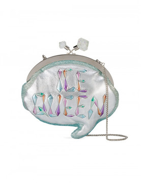 Sophia Webster Ice Queen Bubble Clutch Bag