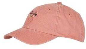 Topshop Women's Peachy Embroidered Ball Cap - Metallic