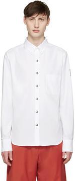 Moncler Gamme Bleu White Oxford Shirt