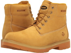Wolverine Polk 6 Waterproof Boot Men's Work Lace-up Boots