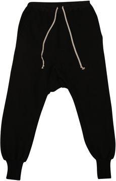 Drkshdw Cotton Low Crotch Trousers