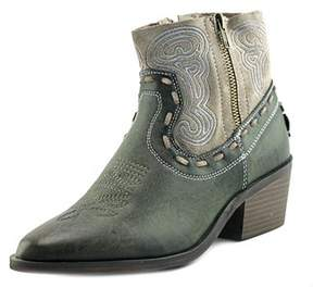 Coolway Bady Women Round Toe Leather Tan Ankle Boot.