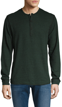 Alternative Apparel Men's Reversible Ribbed Henley