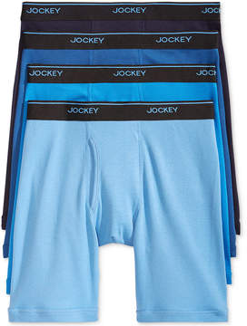 Jockey Men's 3+1 Bonus Cotton Staycool And Boxer Briefs
