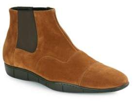 a. testoni Fashion Suede Chelsea Boot