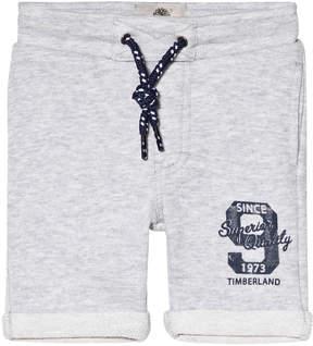 Timberland Kids Grey Marl Branded Sweat Shorts