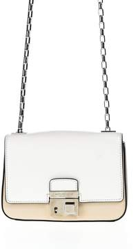 Michael Kors Collection Borsa A Spalla Gia - WHITE - STYLE