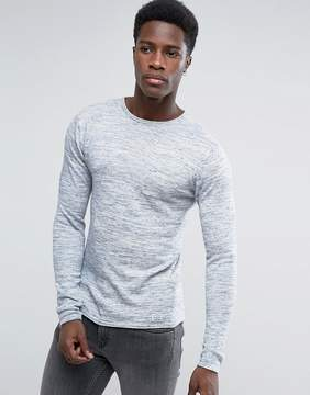 Blend of America Raw Edge Knit
