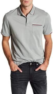 AG Jeans DKD Short Sleeve Stripe Detail Polo Shirt