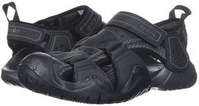 Crocs Swiftwater Leather Fisherman Men's Sandals