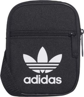 adidas Festival Trefoil Crossbody Bag - Black