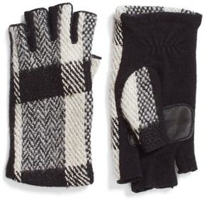 Echo Women's Plaid Fingerless Gloves