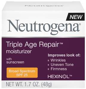 Neutrogena Triple Repair Moisturizer, SPF 25