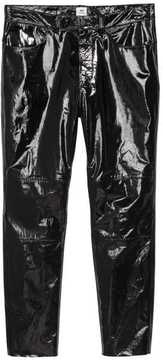 H&M Leather-coated Pants