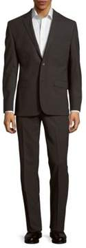 Kenneth Cole Textured Wool-Blend Suit