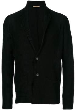 Nuur long-sleeve fitted cardigan