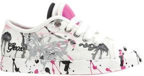 Geox Girls' Jr Ciak Sneaker J7204D - Big Kid
