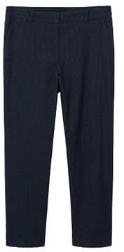 Violeta BY MANGO Micro dot printed trousers