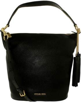Michael Kors MICHAEL Elana Large Shoulder Bag - BLACK - STYLE