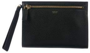 Tom Ford Leather Flat Clutch