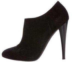 Giambattista Valli Suede Ankle Boots
