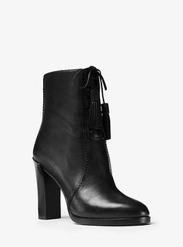 Michael Kors Odile Leather Ankle Boot