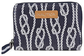 Nautica Zip-Around Indexer - Rope Print
