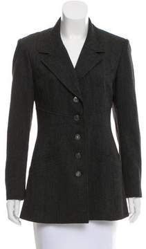 Chanel Wool Notch-Collar Blazer