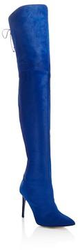 Oscar de la Renta Women's Frederikke Calf Hair Over-the-Knee Boots