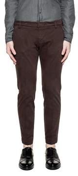 Entre Amis Men's Purple Cotton Pants.