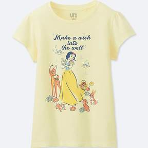 Uniqlo Girl's Sounds Of Disney Graphic T-Shirt