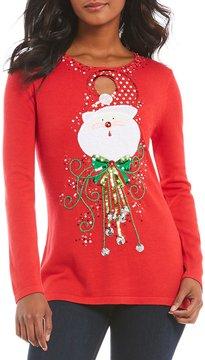 Berek Keyhole Santa X-Mas Sweater