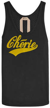 N°21 N21 Chérie Printed Cotton Tank