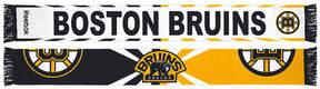 Reebok adidas Boston Bruins Jacquard Wordmark Scarf