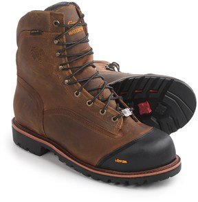 "Chippewa Apache Work Boots - Waterproof, 8"" (For Men)"