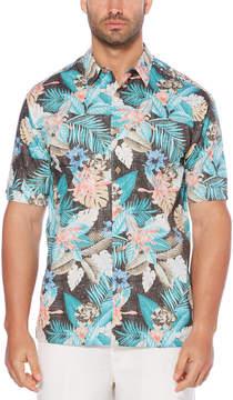 Cubavera 100% Cotton Multi Tropical Printed Shirt