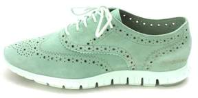 Cole Haan Womens Nevaehsam Low Top Lace Up Fashion Faded Jade