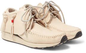 Visvim Fbt Full-Grain Leather Sneakers